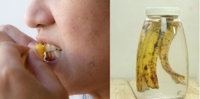 various ways of using banana peels