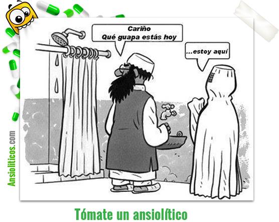 Chiste de Pareja El Burka