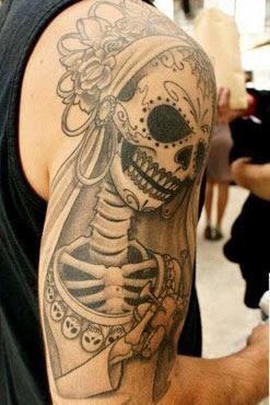 Fotos tatuagem de noiva cadaver