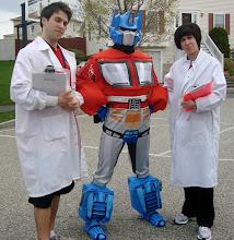 Team Transformer Birthday Party