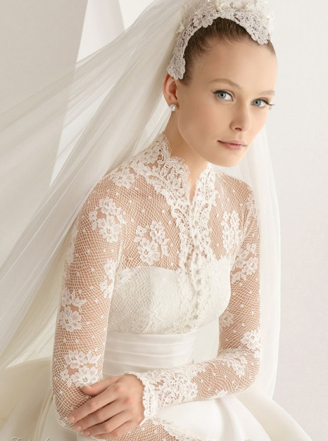 Vintage rose wedding designs september 2012 Grace kelly wedding dress design