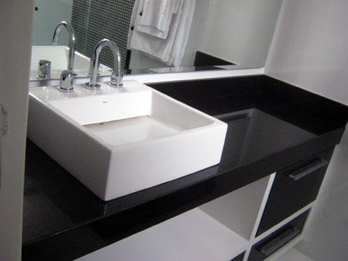 PIA DE BANHEIRO FEITA DE SOBRA DE PORCELANATO -> Pia Para Banheiro De Porcelanato