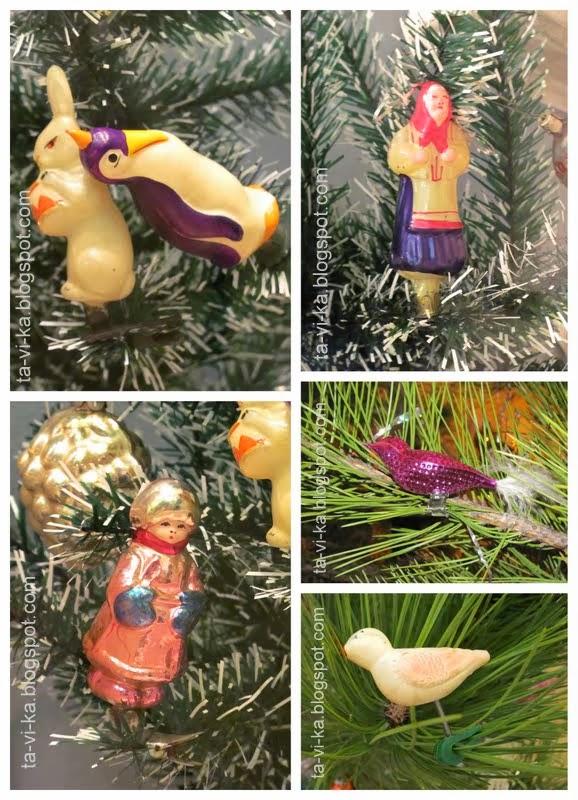 история елочных игрушек СССР