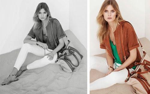 moda mujer Massimo Dutti primavera verano 2014 capa ante pantalón top