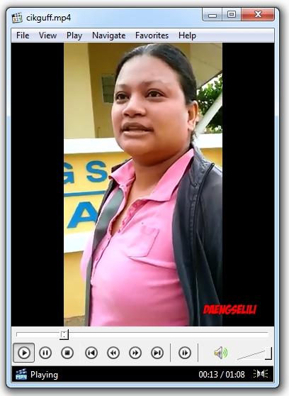 Video Rakaman Pengakuan Ibu Pelajar SK Sri Pristana ini.