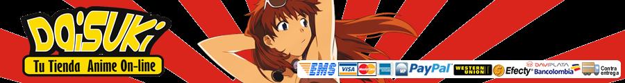Daisuki Anime Tienda de anime online en Bogota y en Colombia, Camisetas, figuras de anime, Cosplay,