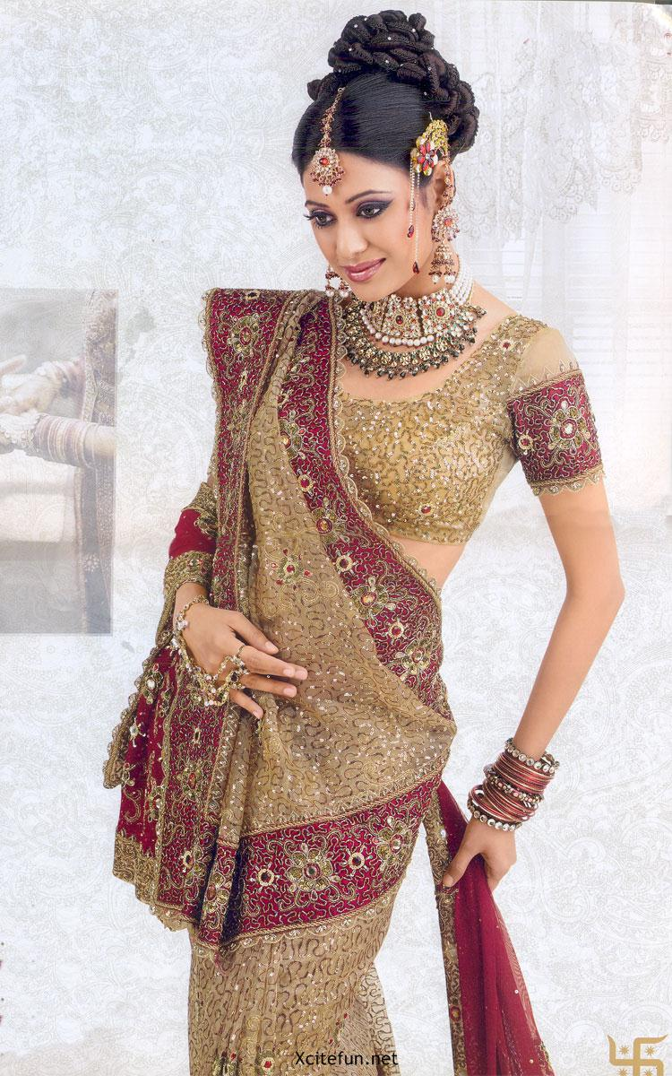 Lehenga Choli Beautiful Bridal Dress Collection !