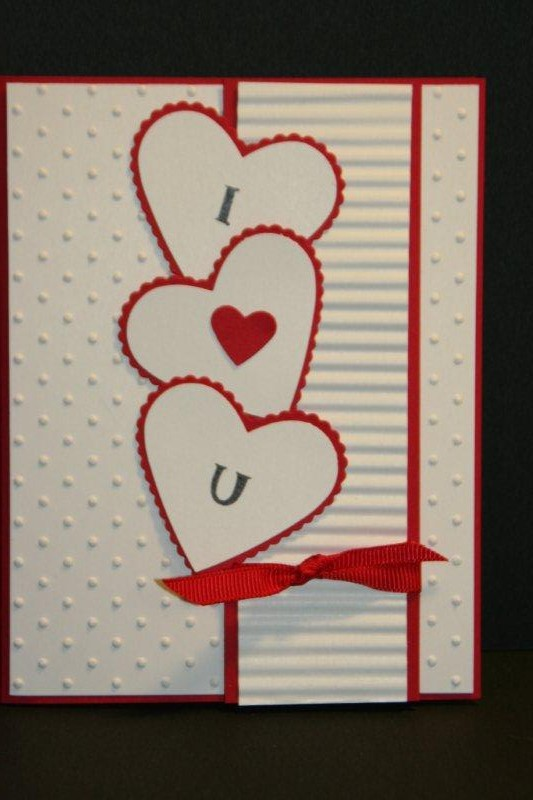 My Creative Corner I Love You Valentines Day Card – Creative Valentine Day Cards