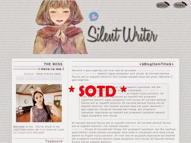 http://frozen-smurf.blogspot.com/2013/06/05-silent-writer.html