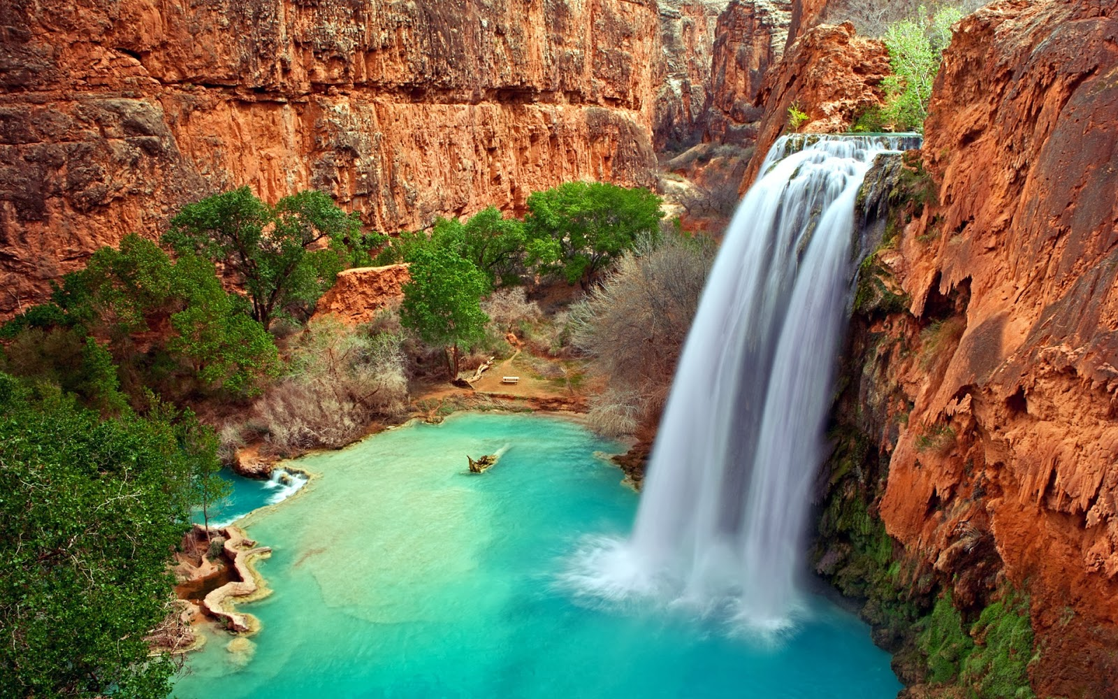 Good Wallpaper Desktop Background Waterfall - arizona-waterfalls-background-wallpaper-for-laptop-widescreen  Pictures_894020 .jpg
