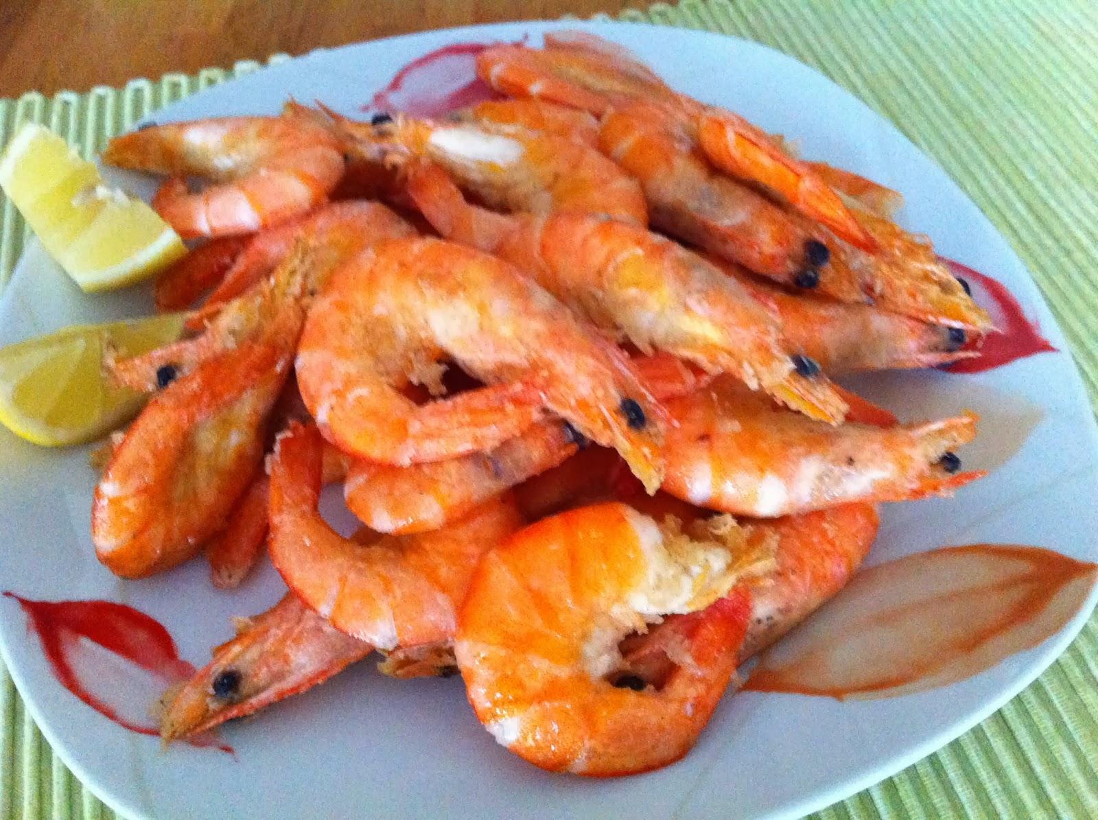 Cucina con Kristina...: Mazzancolle precotte fritte