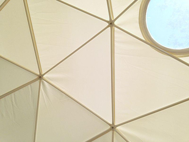 Geo Dome Structure glisten camping