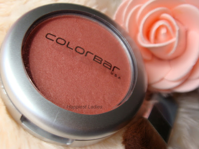 Colorbar Blush Peachy Rose Review+peach blush