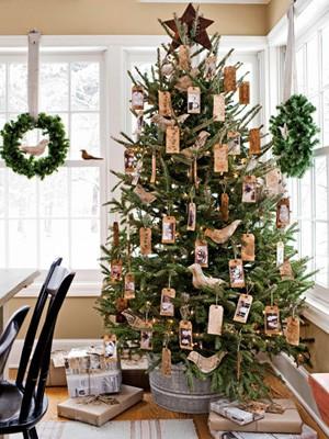 christmas trees part 2 rustic and coastal - Rustic Christmas Trees