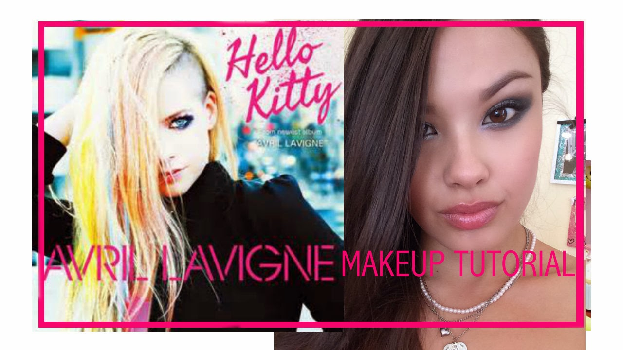 the beauty breakdown avril lavigne hello kitty music video makeup hair tutorial how to outfit of the day ootd