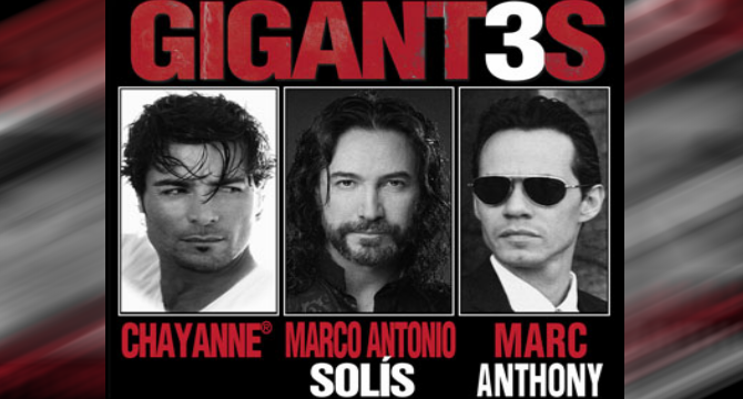 Chayanne GIGANT3S 2012
