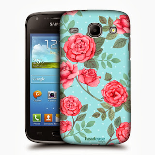 HEAD CASE NOSTALGIC ROSE PATTERN BACK CASE COVER FOR SAMSUNG GALAXY CORE I8260