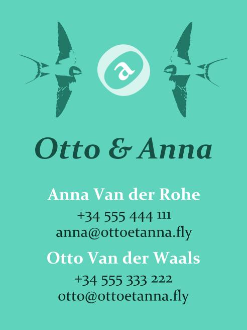 Bárbara Sánchez Portillo - Otto y Anna 2