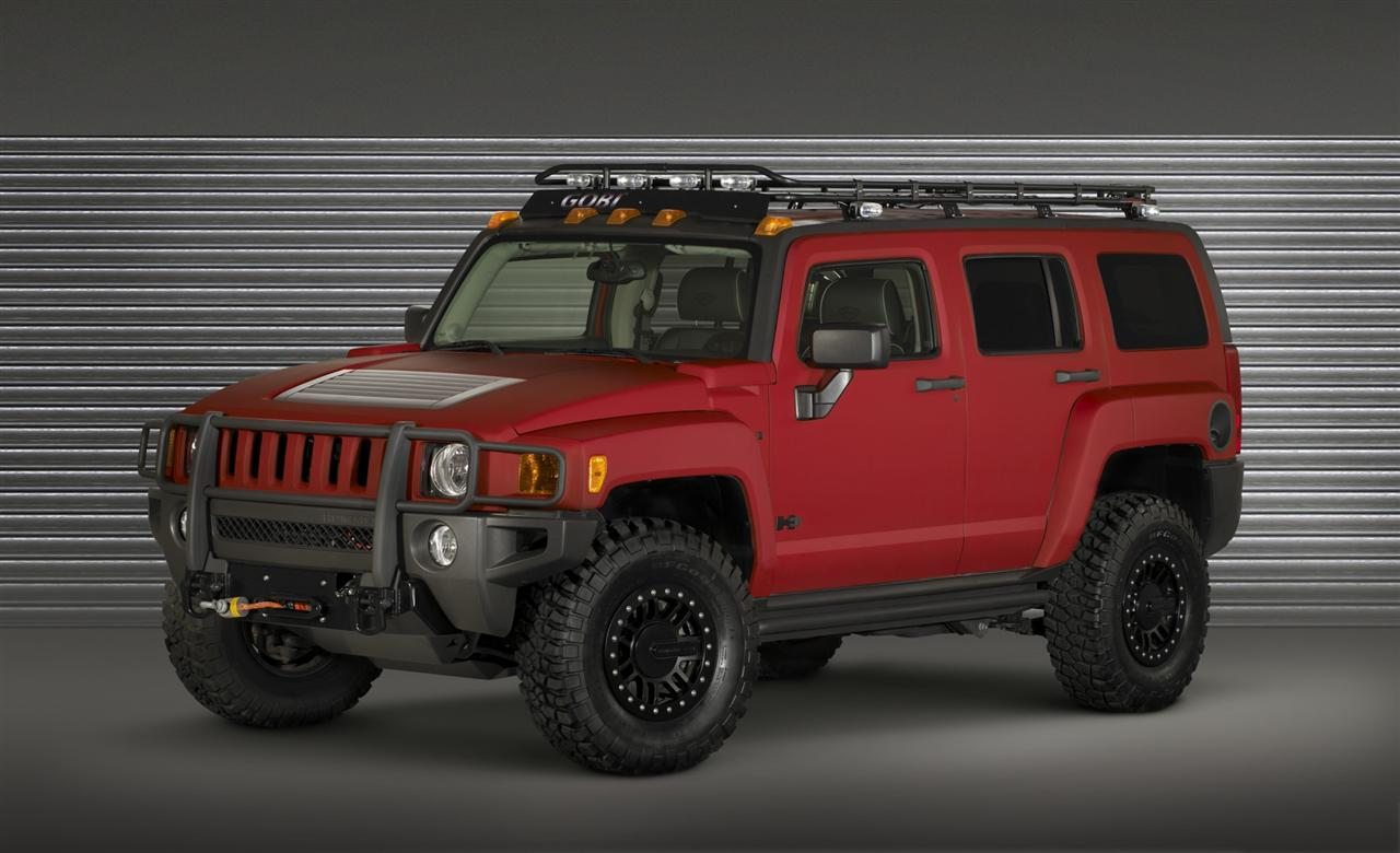 Sport Cars 2009 Hummer H3t Alpha Good Car