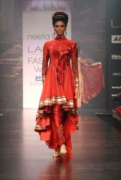 Bibi Jan 2013 Dresses Design Fashion Neetu Lulla Indian Designer