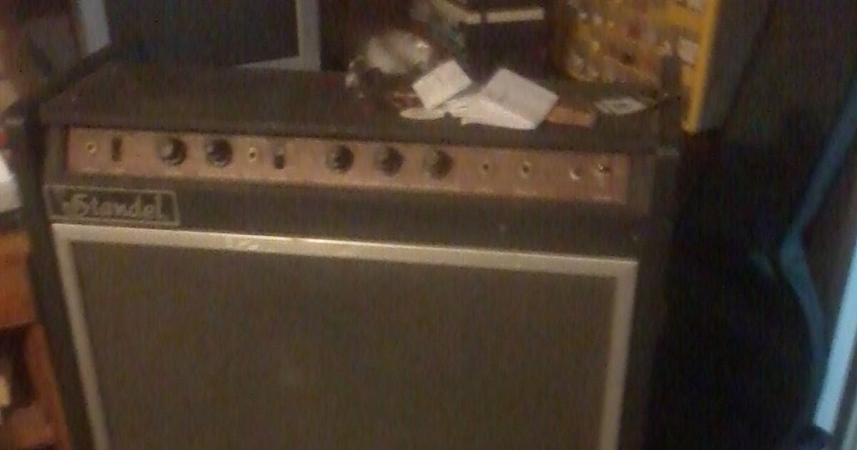 dating standel amplifiers Hey, can anyone vouch for standel amps it's a one owner from the 60's, solid state, i heard it's 120 to 140 watts, original pair of jensens (12s.