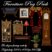 Furniture PNG tubes