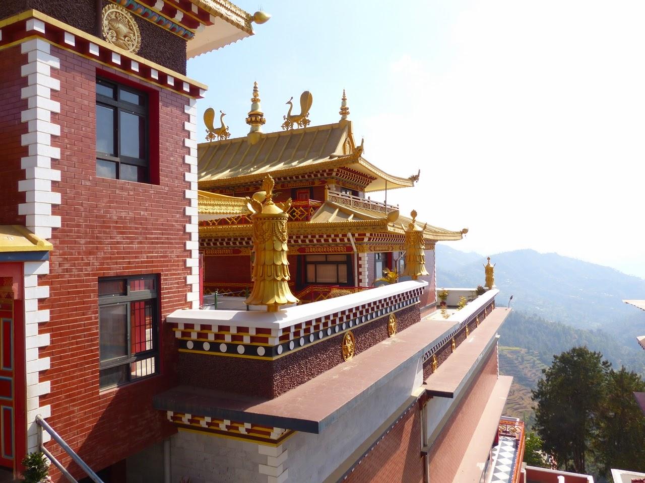 Tibetan Buddhist monastery at Namobudda, Nepal