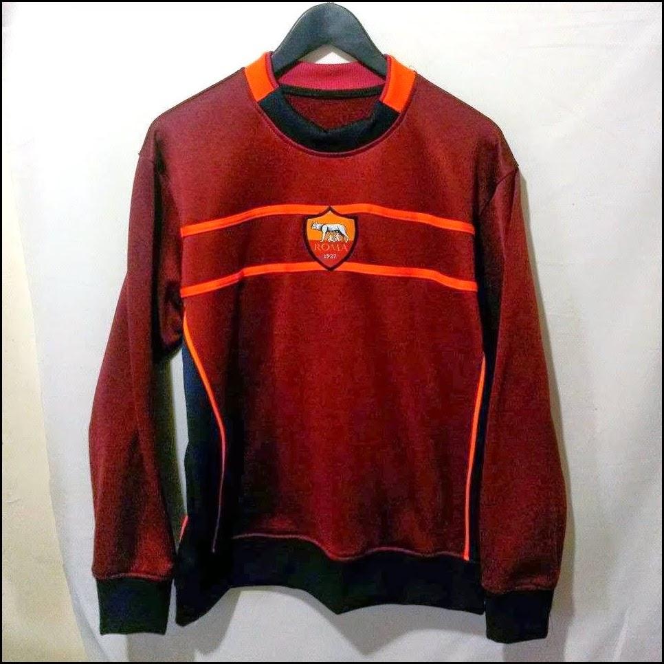 Sweater GO As Roma Merah