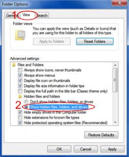 cara mengamankan file penting di komputer