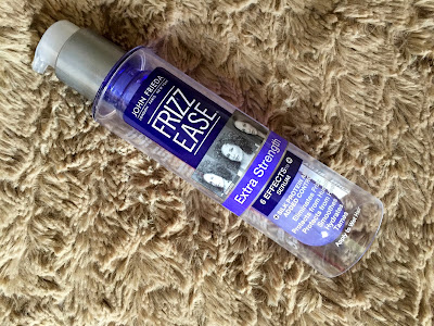 eliminates frizz, Frizz ease, hair care, hair care review, helps with frizz, John Frieda, John Frieda Frizz Ease Serum Extra Strength, John Frieda Frizz Ease Serum Extra Strength review, john frieda review,