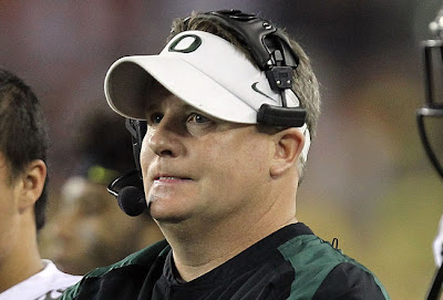 Oregon Duck coach Chip Kelly may be the best coach in all of football