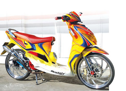 referensi modifikasi mio gt 115