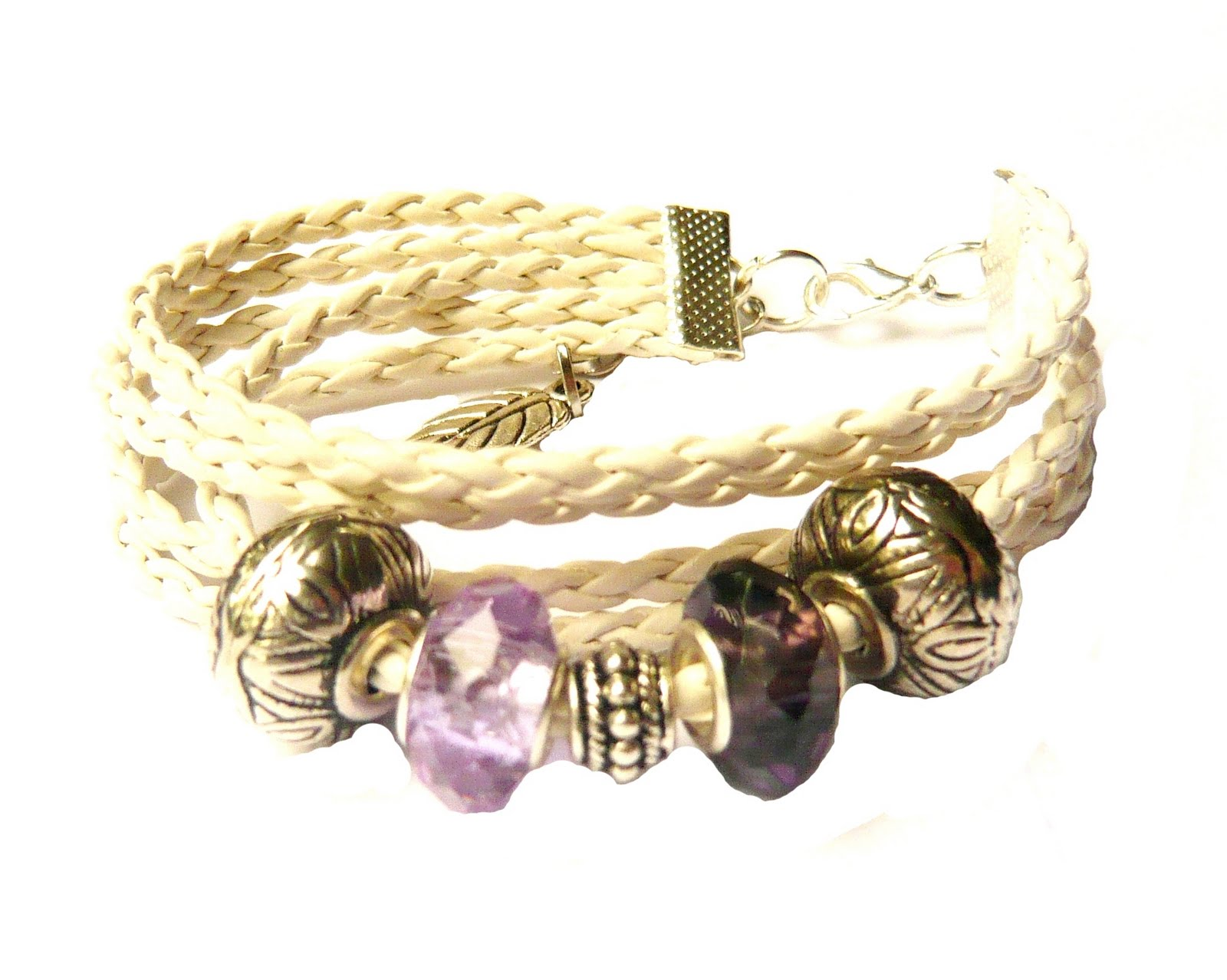 Cheap And Fashion Accesorios  Pulsera Cuero Trenzado