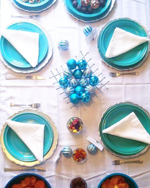 Une table de Noël féerique en un tournemain grâce à Walmart et deux #DIY super faciles