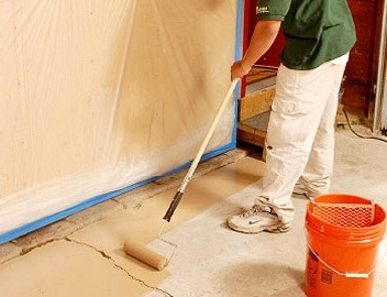 Cheap way out diy 4 cheaper laminate to tile for Latex primer for vinyl flooring