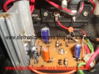 Amplificador de áudio TDA2003