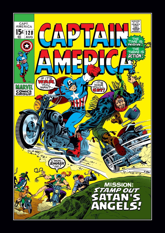 Captain America (1968) Issue #128 #42 - English 1