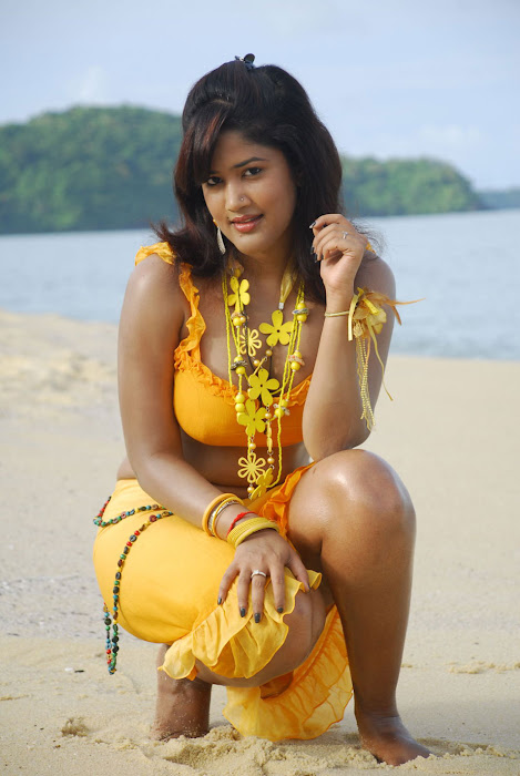 sowmya spicy from mugguru movie, sowmya exposing