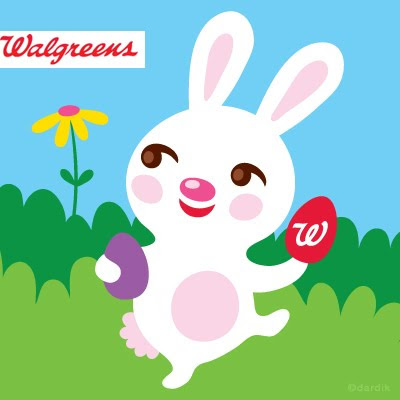 Look Who Is Hopping In The Isles Of Walgreens My Easter Bunny