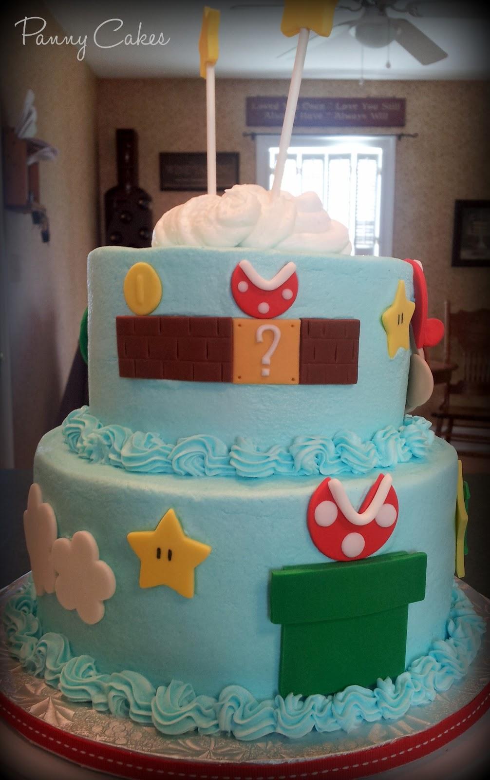 Panny Cakes Mario Brothers Cake Cupcakes