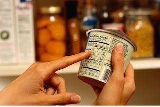 Indica el valor nutrimental del producto