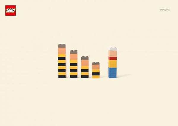 Lego Creative Advertising Print Ad