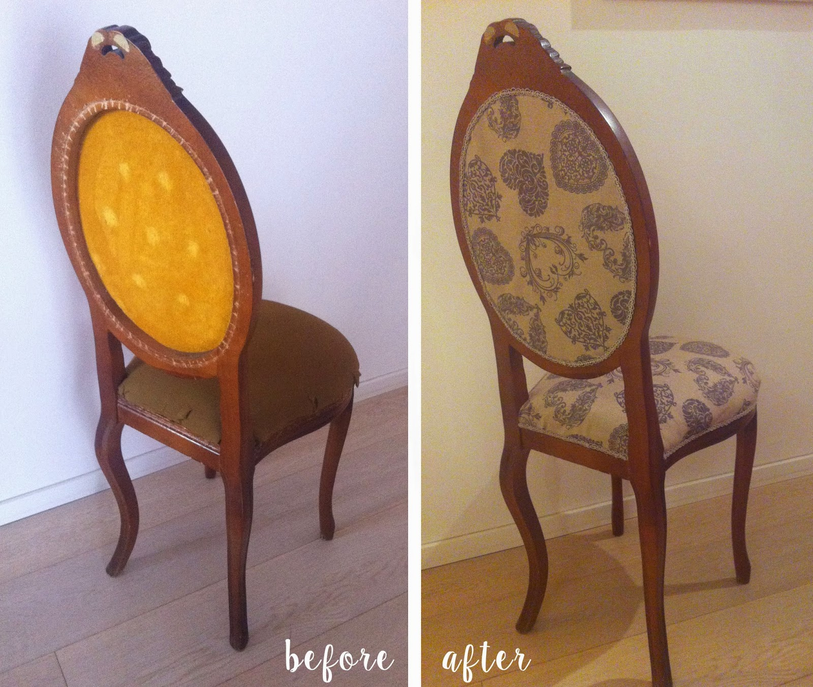 diy restyling chair