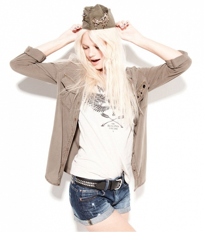 Bsk by Bershka Lookbook September 2012