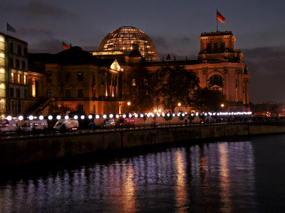 Lichtgrenze - 25th Anniversary of the Fall of the Berlin Wall