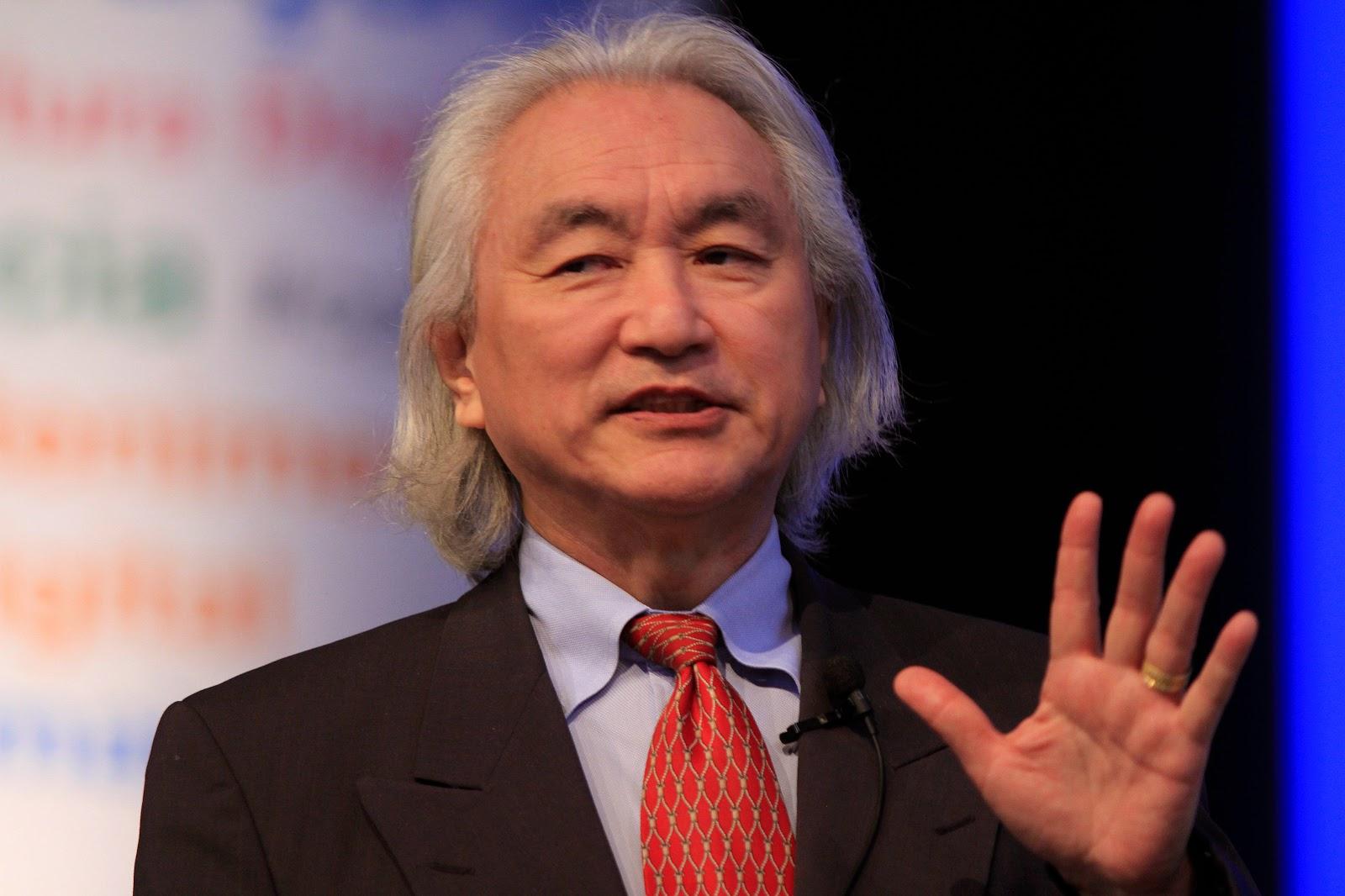 Ông Michio Kaku vào năm 2012. Tác giả hình ảnh : Cristiano Sant´Anna/indicefoto.com.