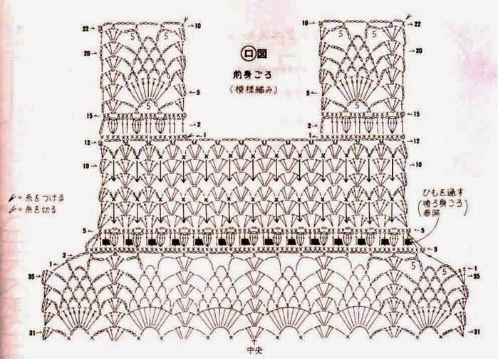 Схемы для вязания крючком для детей платья 104