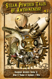 "Cover Photo ""Steam Powered Tales of Awesomeness! vol 1"""