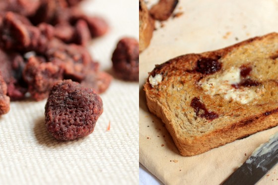 Strawberry Cinnamon Swirl Bread #TwelveLoaves | Vintage Kitchen Notes