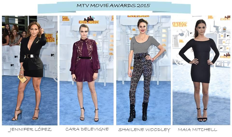 vestidos mtv movie awards 2015
